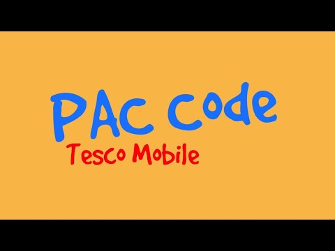 How to get your tesco mobile pac code - keep your mobile number / customer service