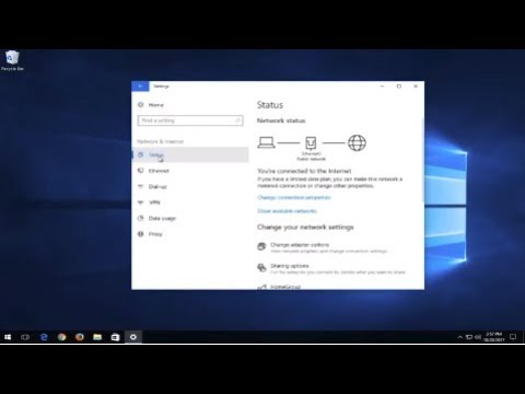 How to cleanup and reset network adapter in windows 10