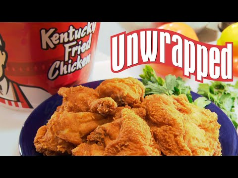 How kentucky fried chicken is made (from unwrapped) | unwrapped | food network