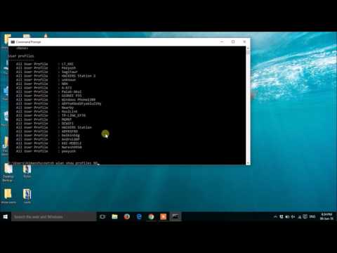 How to find saved wifi passwords on windows/10/8.1/8/7/xp pc or laptop using cmd