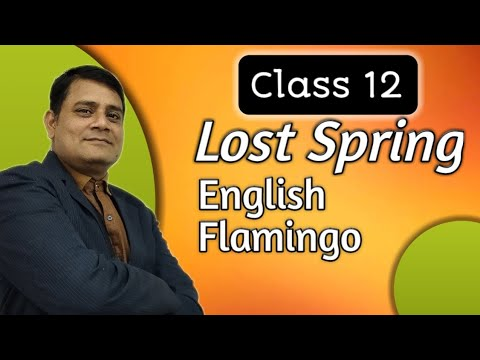 Lost spring class 12 book flamingo ncert cbse rbse full explanation