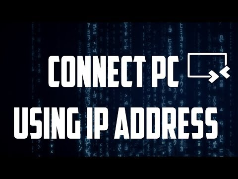 How to access any pc or laptop remotely at your home using ip address