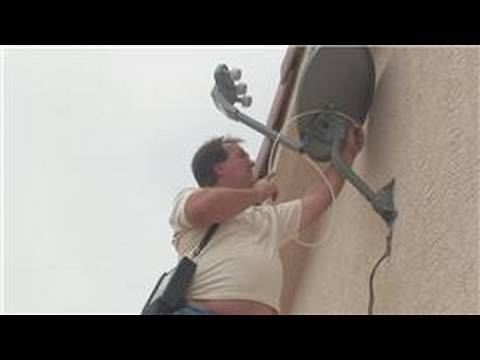 Satellite television info : how to install a satellite dish