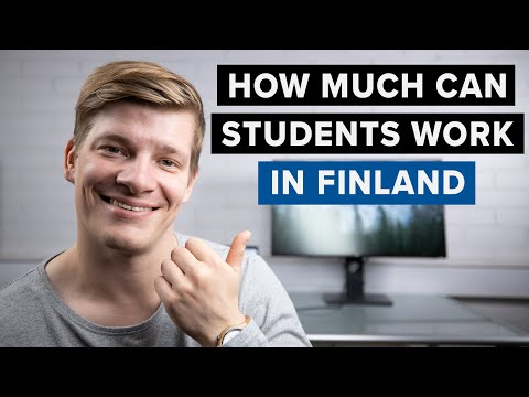 How much can you work in finland as an international student – rules explained | study in finland