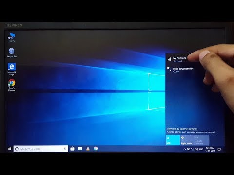 How to connect wifi in laptop