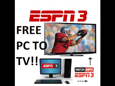 How to watch espn3 on your tv with chromecast streaming from your computer best way