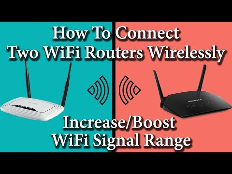 ✓ how to connect two routers on one home network wireless 2018