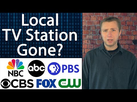 Lose a tv station on cable or satellite? here's why