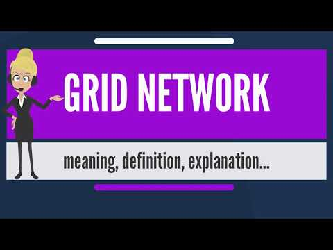 What is grid network? what does grid network mean? grid network meaning & explanation