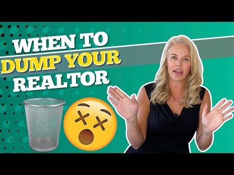 When to dump your realtor? 💭reasons to fire your real estate agent in 2021 w/ mortgage lender 👌