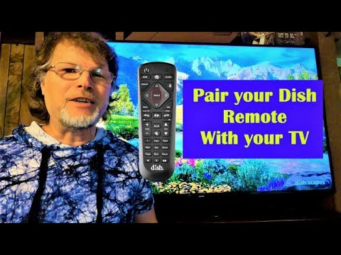 Pairing dish network remote to tv