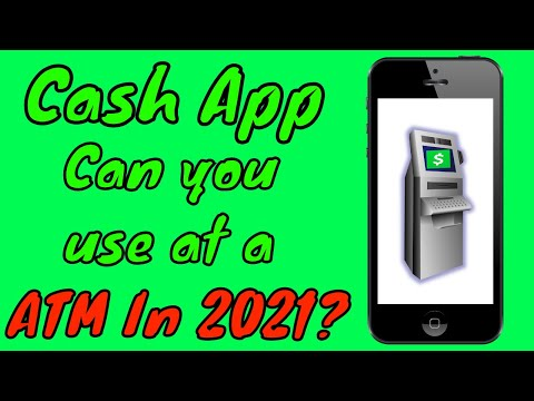 Can i use cash app at an atm? (2021)