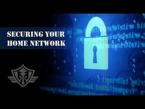 How to secure your home network, wifi router and modem