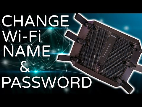 How to change your router's wi-fi name & password