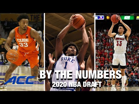 Acc by the numbers: 2020 nba draft