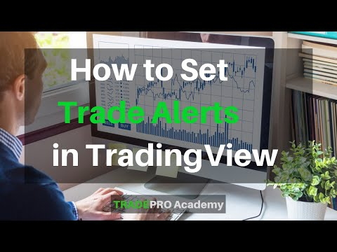 Trade alerts on tv | how to use trading alerts on trading view