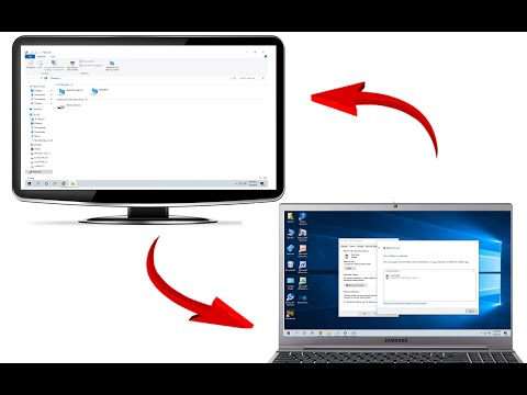 How to connect two computers via networking & share file, folder & printer windows 10