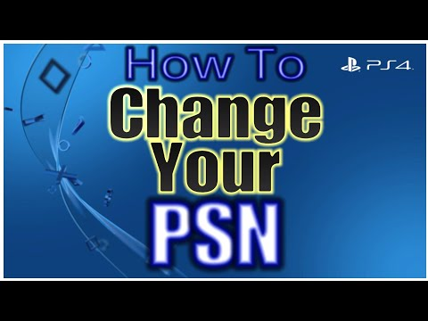 How to change your playstation network id