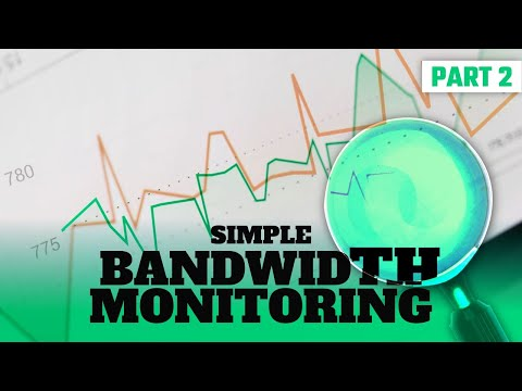 Simple bandwidth monitoring - part 2 - open source tools for tracking down network interface issues.