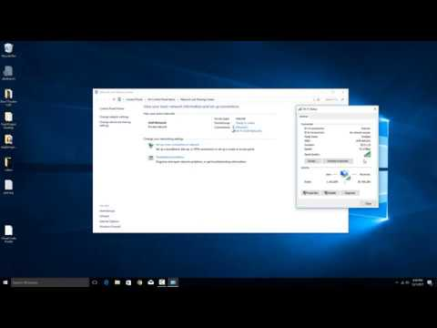 How to check your local network lan speed in windows 10